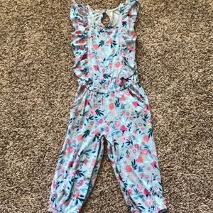 Cute and comfortable floral romper